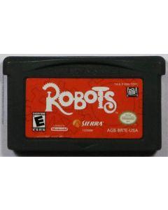 Jeu Robots pour Game Boy Advance