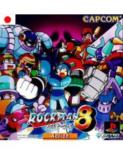 Jeu Rockman 8 pour Playstation