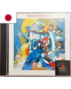 Jeu Rockman X4 pour Playstation