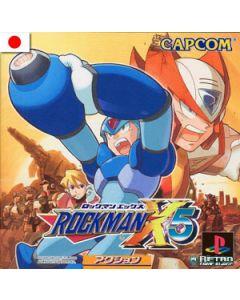 Jeu Rockman X5 pour Playstation