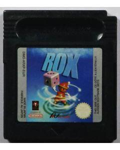 Jeu Rox pour Game Boy