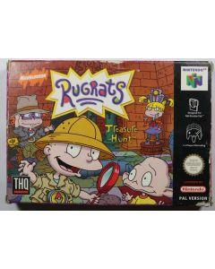 Jeu Rugrats Treasure Hunt pour Nintendo 64