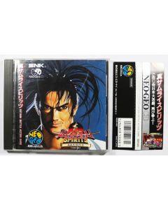 Jeu Samurai Spirits pour Neo Geo CD