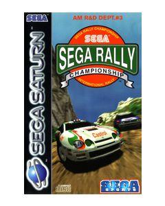 Jeu Sega Rally Championship pour Saturn