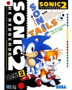 Jeu Sonic 2 pour Megadrive JAP