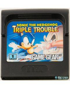 Jeu Sonic Triple Trouble pour Game Gear