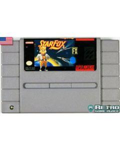 Jeu Starfox pour Super NES