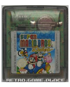 Jeu Super Mario Bros. Deluxe pour Game boy Color