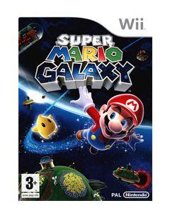 Jeu Super Mario Galaxy pour Wii