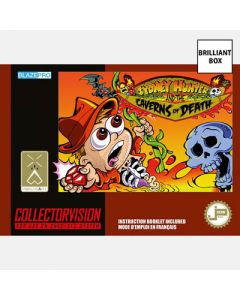 Jeu Sydney Hunter and the Caverns of Death (Brillant) pour Super Nintendo