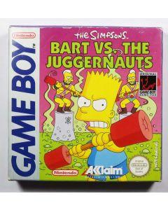 Jeu The Simpsons Bart VS the Juggernauts pour Game Boy