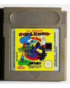 Jeu The Simpsons Itchy & Scratchy in Miniature Golf Madness pour Game Boy