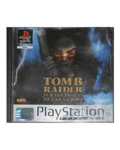 Jeu Tomb raider sur les traces de lara croft Platinum pour Playstation