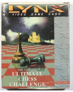 Jeu Ultimate Chess challenge pour Atari Lynx