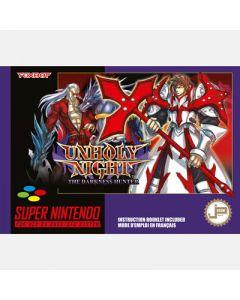 Jeu Unholy Night The Darkness hunter pour Super Nintendo