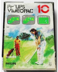 Jeu Videopac 10 Golf pour Philipps Videopac