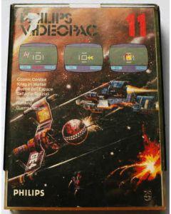 Jeu Videopac 11 Cosmic conflict pour Philipps Videopac
