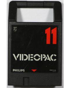 Jeu Videopac 11 pour Philips Videopac
