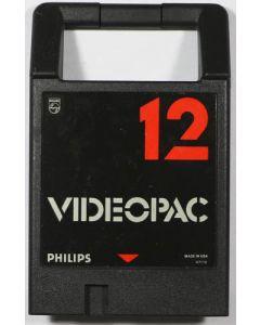 Jeu Videopac 12 pour Philips Videopac