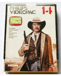 Jeu Videopac 14 Gunfighter pour Philipps Videopac
