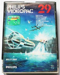Jeu Videopac 29 Dam Buster pour Philipps Videopac