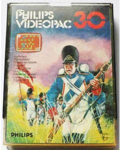 Jeu Videopac 30 Champ de bataille pour Philipps Videopac