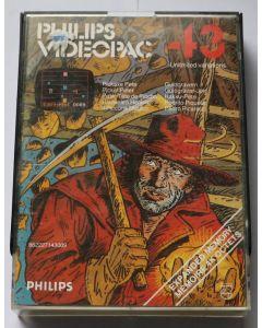 Jeu Videopac 43 Pickaxe Pete pour Philipps Videopac