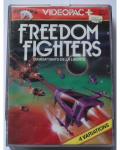 Jeu Videopac Freedom Fighters pour Philipps Videopac