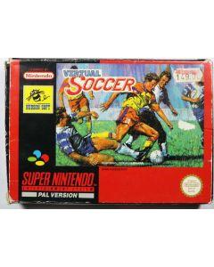 Jeu Virtual Soccer pour Super Nintendo