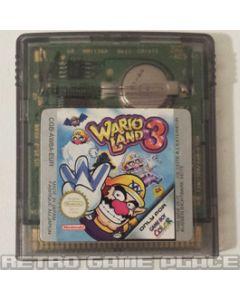 Jeu Wario Land 3 pour Gameboy Color
