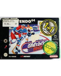 Jeu Wayne Gretzky's 3D Hockey (allemand) pour Nintendo 64