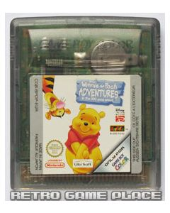 Jeu Winnie the Pooh Adventures in the 100 Acre Wood pour Game Boy Color