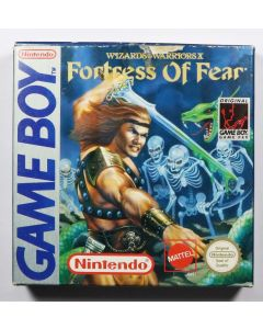 Jeu Wizards & warriors X Fortress of fear pour Game Boy