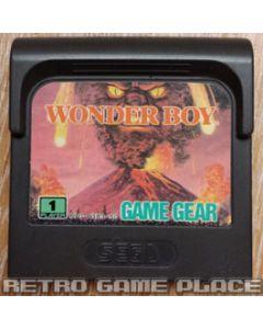 Jeu Wonder Boy pour Game Gear
