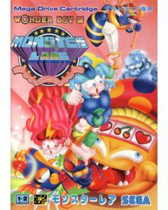 Jeu Wonder Boy III - Monster Lair (JAP) pour Megadrive
