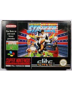 Jeu World Cup Striker pour Super Nintendo
