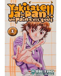 Manga Yakitate Japan! Un pain c'est tout tome 01
