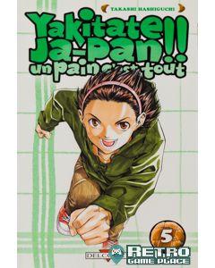 Manga Yakitate Japan! Un pain c'est tout tome 05