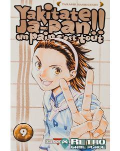 Manga Yakitate Japan! Un pain c'est tout tome 09