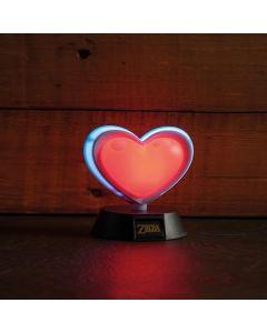 Zelda - Lampe 3D Réceptacle de Coeur - 10cm