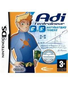 Jeu Adi l'entraineur 6ème-5ème (Mathématiques et Fançais) pour Nintendo DS