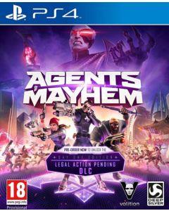 Jeu Agents of Mayhem- Day One Edition (Neuf) pour PS4