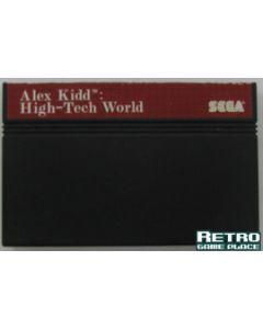 Alex Kidd in High tech world Master System