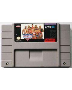 Jeu American Gladiators pour Super NES
