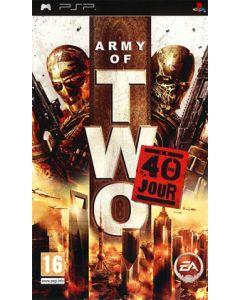 Jeu Army of two - Le 40ème jour pour PSP