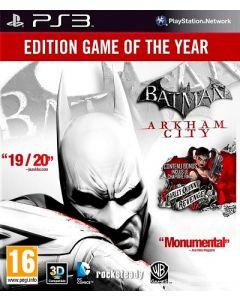 Jeu Batman Arkham City pour PS3