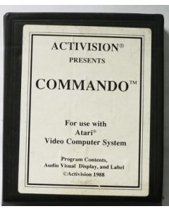 Jeu Commando pour Atari 2600