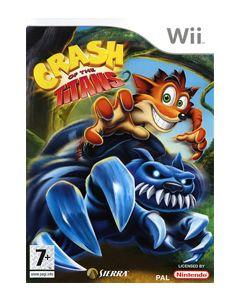 Jeu Crash of the Titans pour Wii