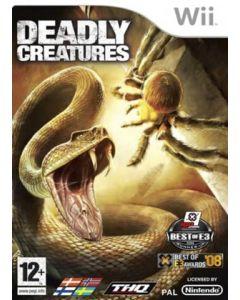 Jeu Deadly Creatures pour WII