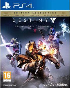 Jeu Destiny - le roi des corrompus - édition légendaire pour PS4